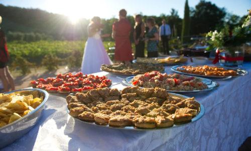 Banchetto matrimoni